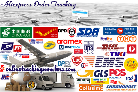 Online Aliexpress Tracking Number Barcode