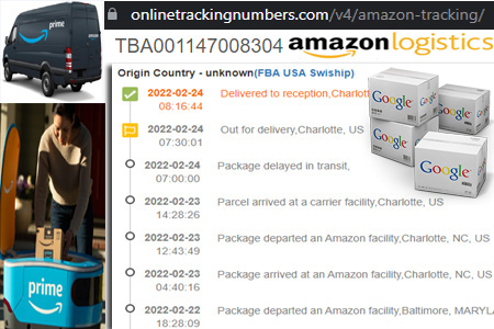 Online Amazon Tracking Number Barcode