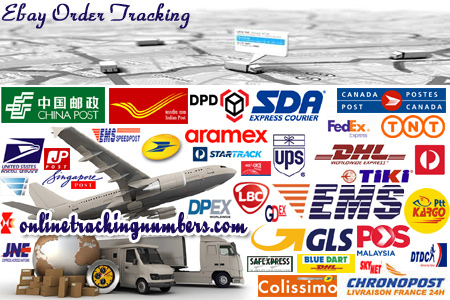 Online eBay Tracking Number Barcode