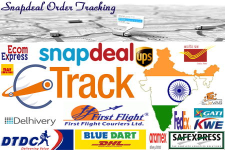 Online Snapdeal Tracking Number Barcode